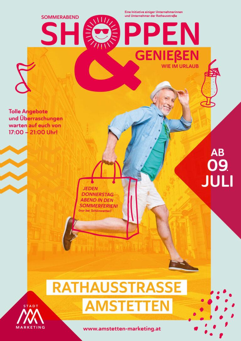 Sommerabend Shoppen & Genießen